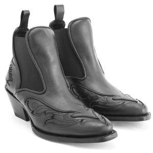 John Fluevog Autry ESTRELITA Western Chelsea Boot